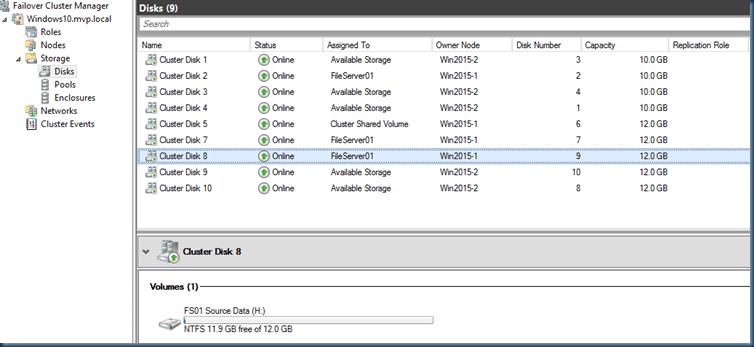 First look at Windows Volume Replication Storage Replica in Windows Server