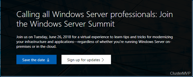 Windows Server Summit
