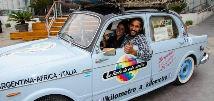 kilometro a kilometro fiat 1100 scomfort zone sudamerica capo verde italia argentina