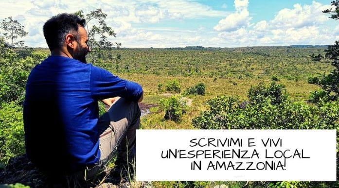 informazioni guaviare foresta amazzonica in Colombia