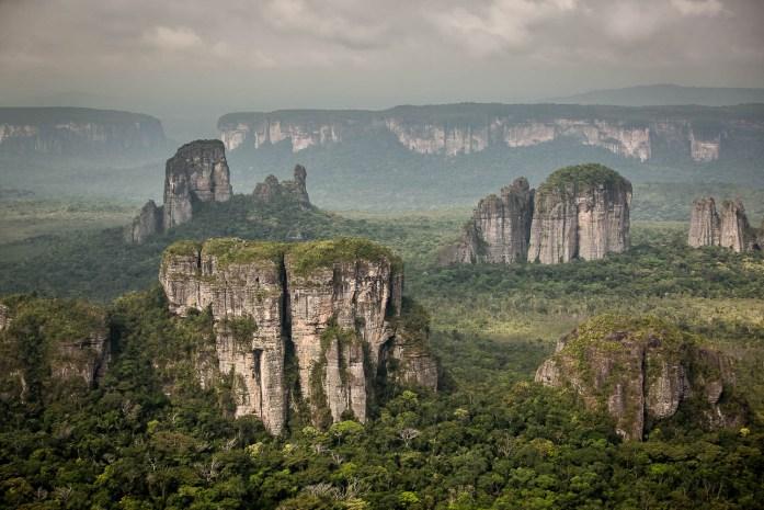 chiribiquete natura selvaggia e incontaminata in Amazzonia Colombia