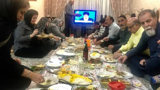 Nowruz Iran un italiano a casa di una famiglia iraniana
