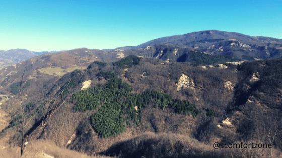 Anello dlle Gualchiere che porta a Castel dell'Alpe e Nasseto Bagno di Romagna trekking da fare