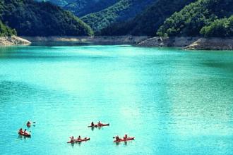 canoa diga ridracoli scomfort zone
