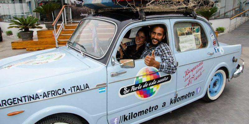 150 dollari in tasca e una Fiat 1100: Così Sonia e Luis stanno girando il Mondo