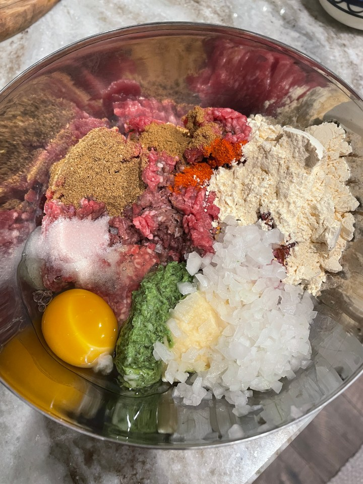 the kabab mix for dum kabab