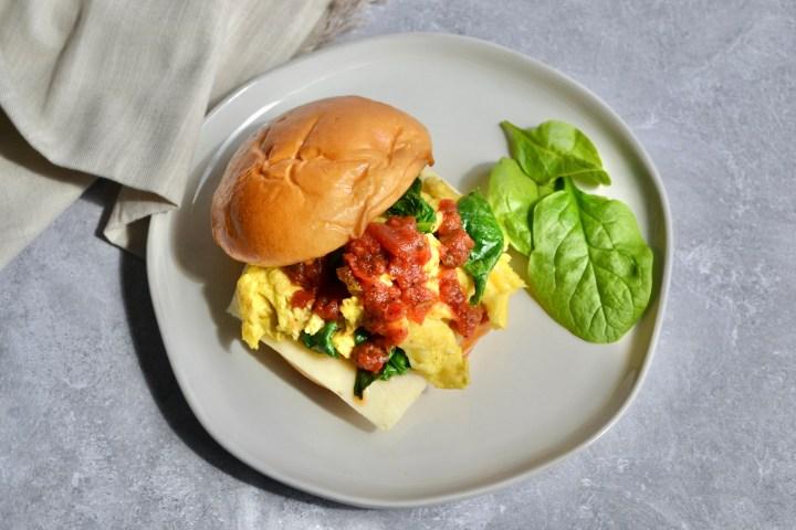 Veggie Breakfast Sandwich