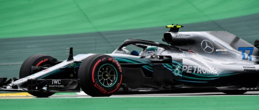 F1 Brazil: Rope Mercedes and Bottas