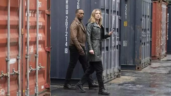 Sam Wilson e Sharon Carter in The Falcon and the Winter Soldier