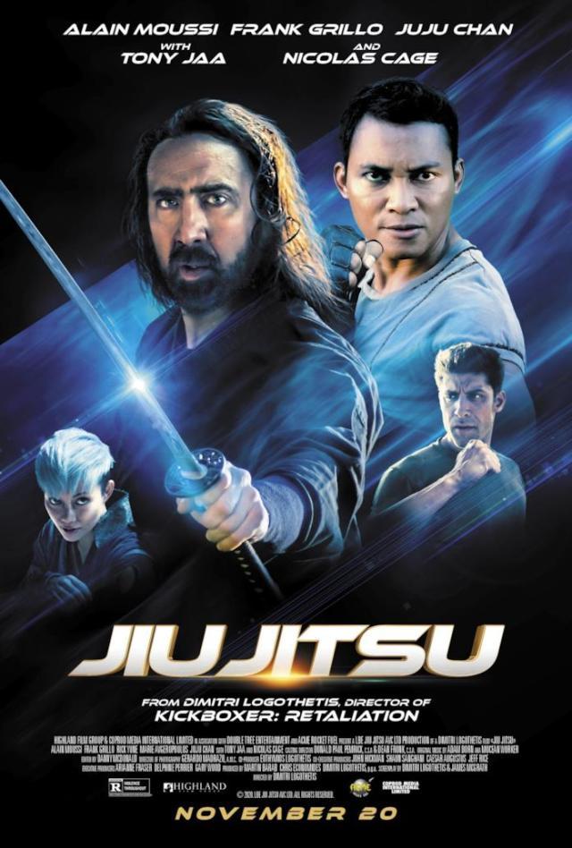 Jiu Jitsu: il nuovo, folle film con Nicolas Cage contro gli alieni
