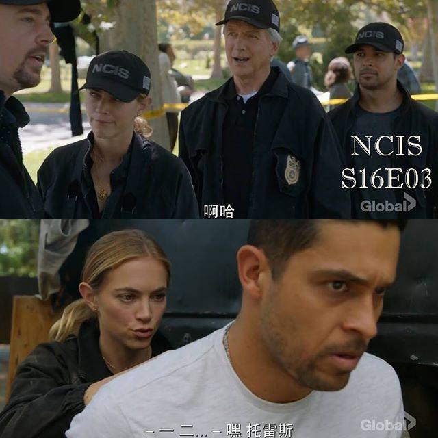 ⠀ NCIS S16E03 ⠀ 怎麼感覺主任這季還沒轉運, 然後McGee根本迷弟無誤????, Torres帽子被射穿這事 讓我想起了Tony ...