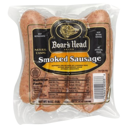 Boar39s Head Smoked Sausage 1600 oz Harris Teeter