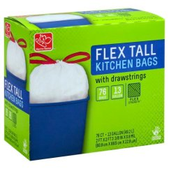 Tall Kitchen Bags Rug Sets Harris Teeter 13 Gallon Flex Strength 76 00 Each