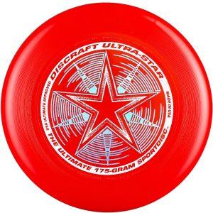 Фрисби Discraft Ultra-Star красный