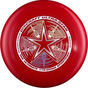 Фрисби Discraft Ultra-Star темно красный