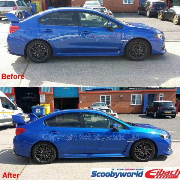 Scoobyworld- Eibach Prokit Performance Springs Subaru Wrx Sti 2014