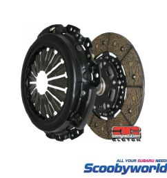 competition clutch stage 2 carbon kevlar 01 18 subaru wrx sti 6 speed 15030  [ 1600 x 1600 Pixel ]