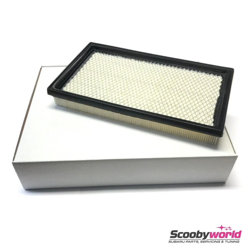 medium resolution of scoobyworld oe quality air filter for subaru impreza 1993 2007 models