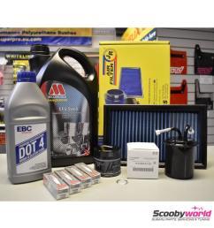 subaru major service pack millers 2 0 litre impreza turbo wrx and sti 1993 [ 1700 x 1700 Pixel ]