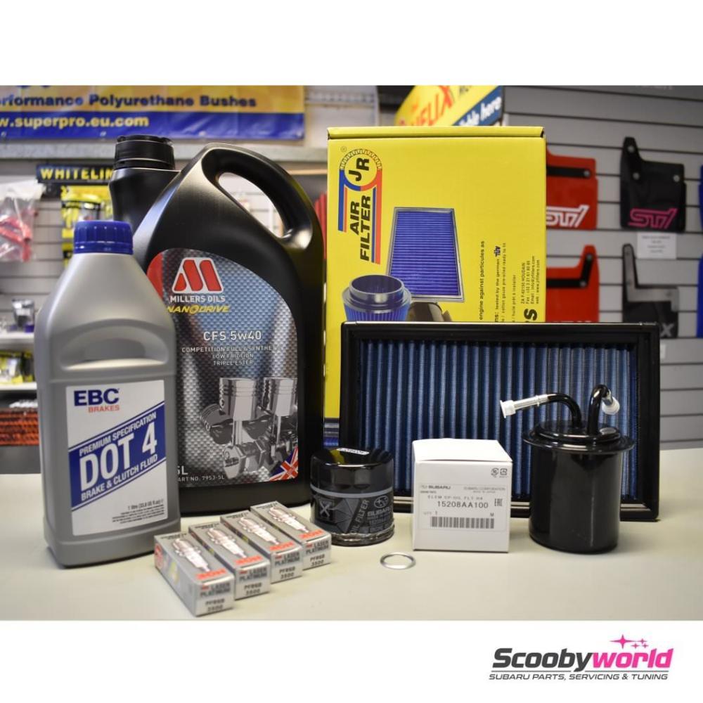 medium resolution of subaru major service pack millers 2 0 litre impreza turbo wrx and sti 1993