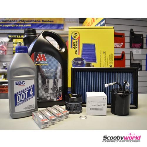 small resolution of subaru major service pack millers 2 0 litre impreza turbo wrx and sti 1993