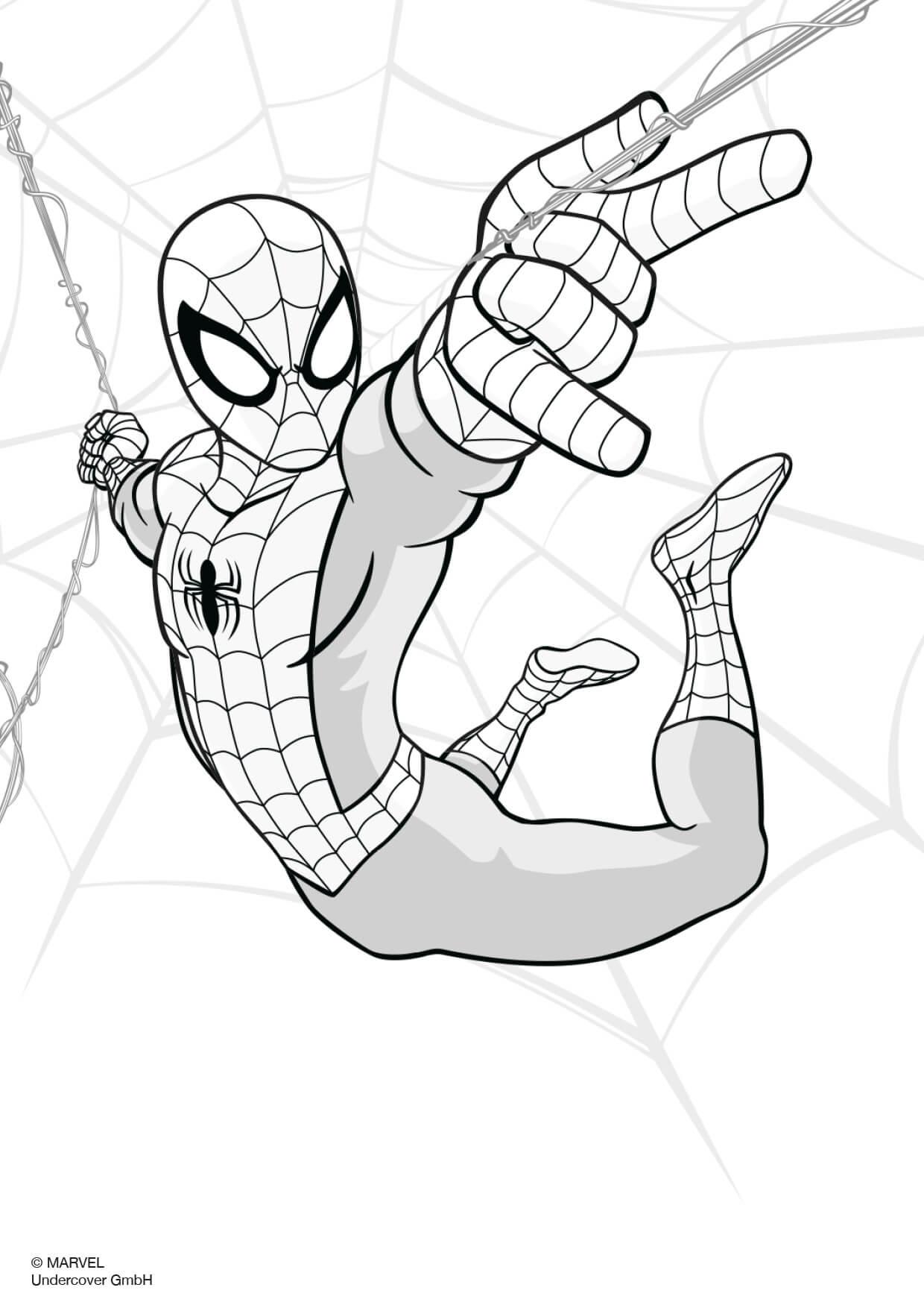 Spiderman Malvorlage Coloring and Malvorlagan