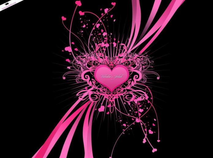 Pink Heart, Love Wallpaper Collection