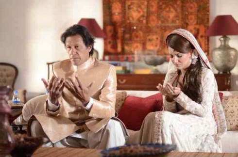 Imran Khan and Reham Khan Wedding Picture Released (1)