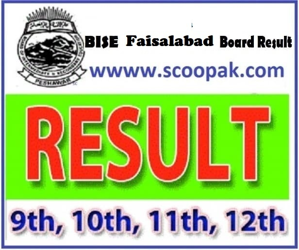 BISE Faisalabad Board (10th Class) Matric / SSC Part-2 Result 2020 announced