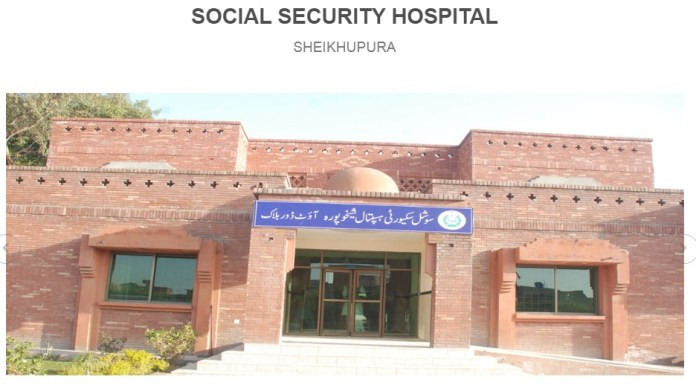 Social Security Benefits for Workers Employeers of Pakistan