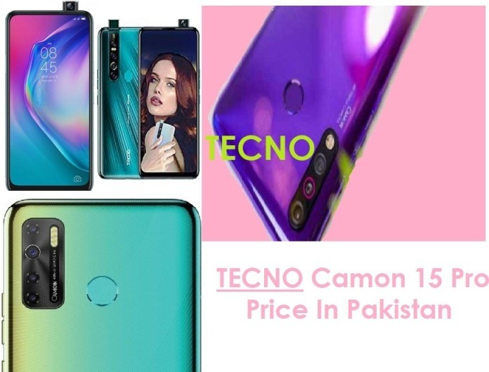 Tenco Camon 15 Pro Price in Pakistan