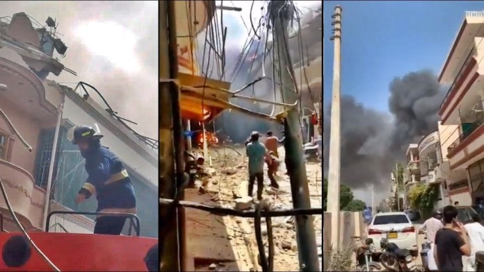 PIA Airline Crashed in Karachi Today Video Viral