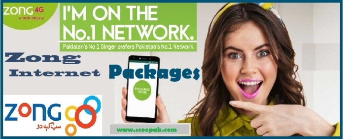 Zong Internet Packages 2020 Monthly, Weekly, Daily & Hourly