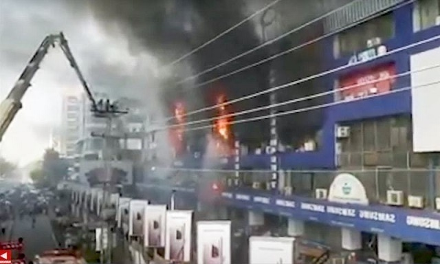 Hafeez Centre Lahore Fire Case 18th October 2020