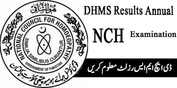 DHMS Results 2020 Annual Examination