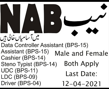 NAB Jobs 2021 Advertisement How to Apply