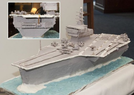 Vice Adm. David Architzel's masterpiece.