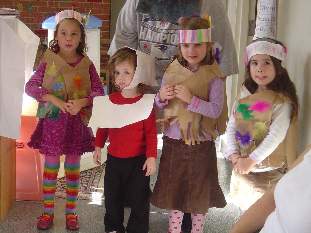 Thanksgiving Dress Up Party For Kids By Adjustafresh
