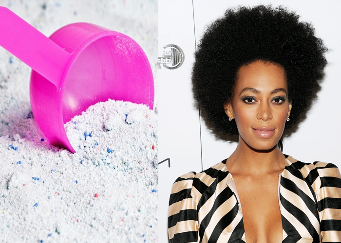 Solange Knowles Uses Detergent