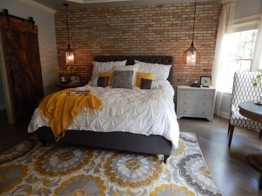 Brick Wall - Guest Bedroom