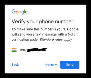 Verify Mobile Number