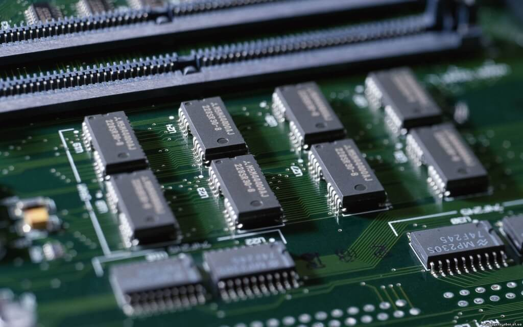 motherboard electronic components