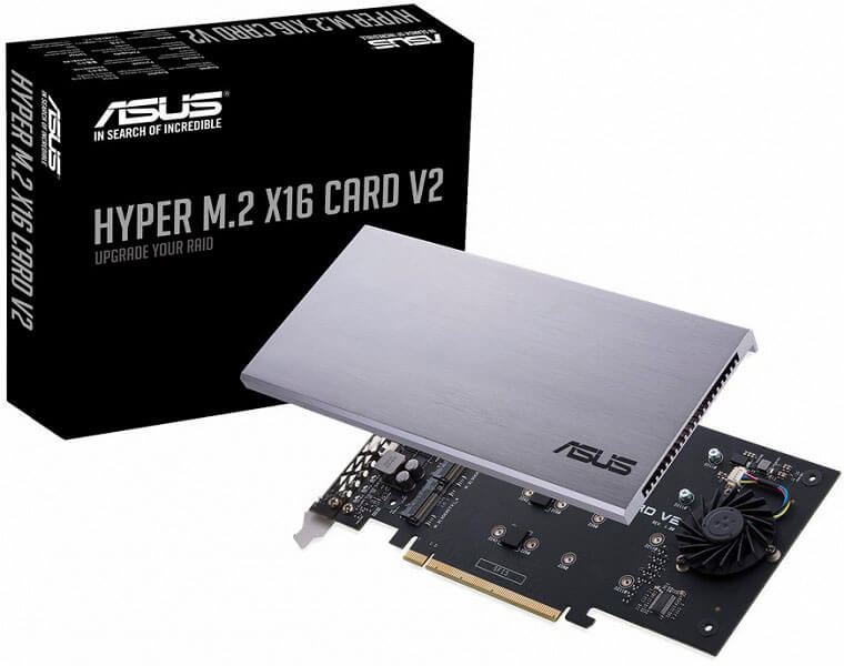 Hyper M.2 x16 Card expansion card