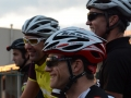 All smiles with 170km ahead of them