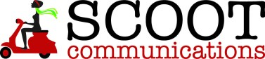 Scoot Communications wide logo