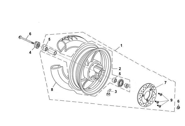 Tachoantrieb 12 mm für Vierkant für BT49QT-9 / BT50QT-9