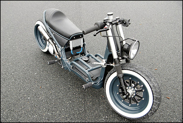 The Honda Ruckus Cafe Risque Custom Scooter Scooterfile