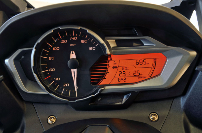 BMW C650 Sport Gauge cluster