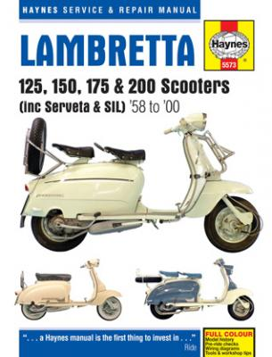Haynes Lambretta Manual