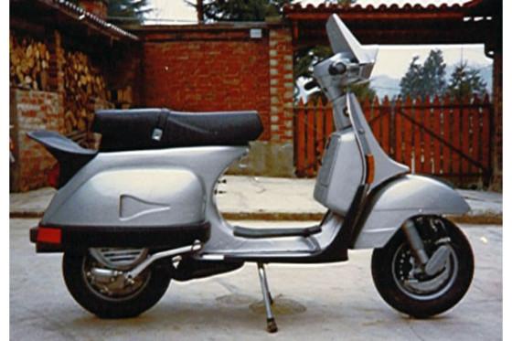 Paolo Martin's Vespa Sport 200 concept (1984).